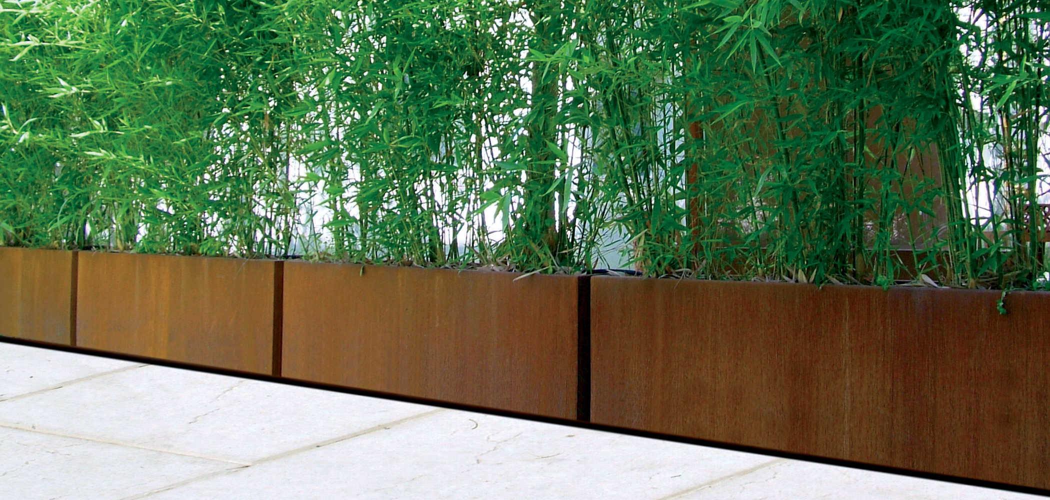 Bamb planter metalco - Jardineras con bambu ...