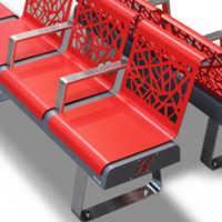 Freccia Modular bench