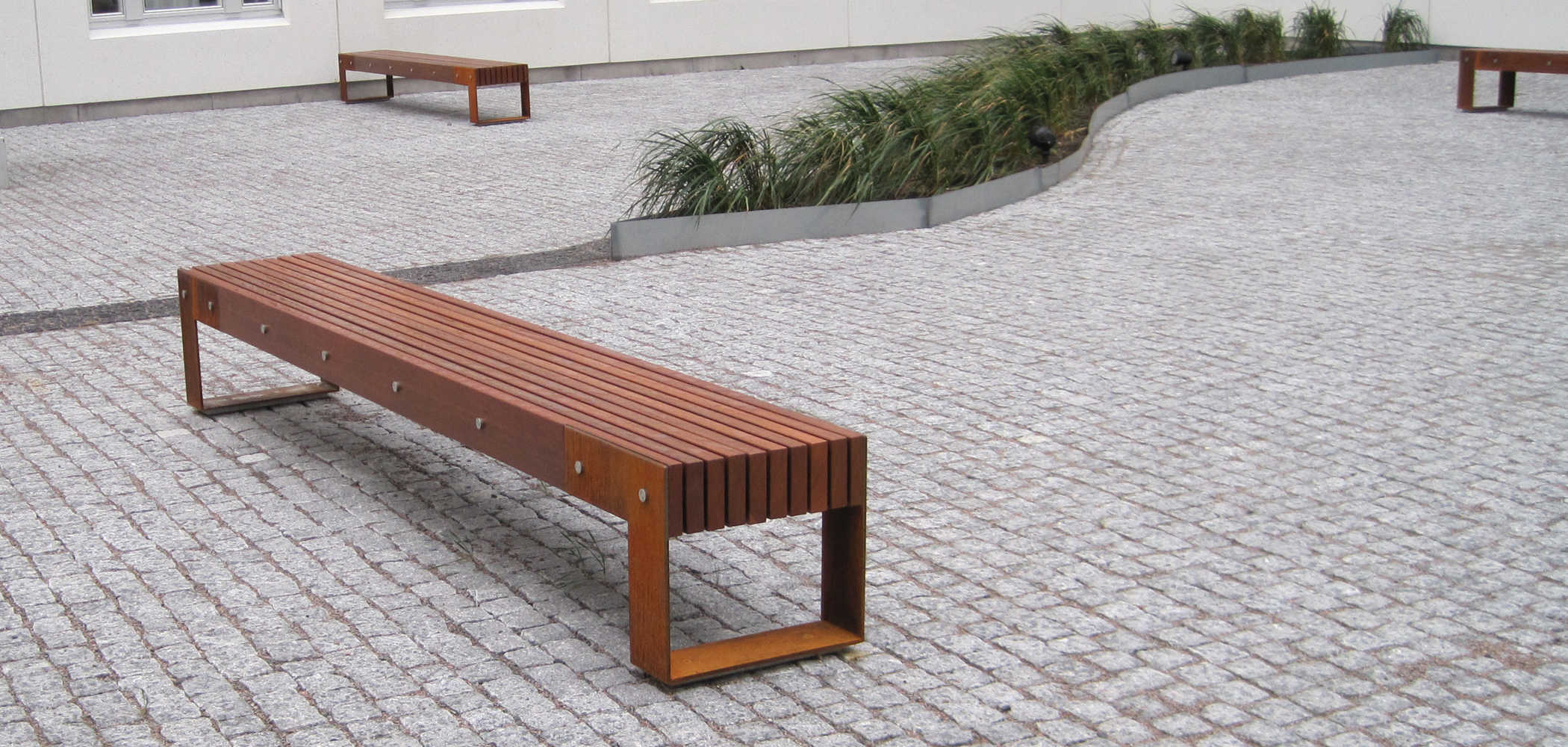 Wooden Expo Stands For : Benches ideas lt metalco
