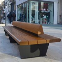 Canapè  double bench