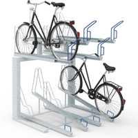 Biplano bike racks
