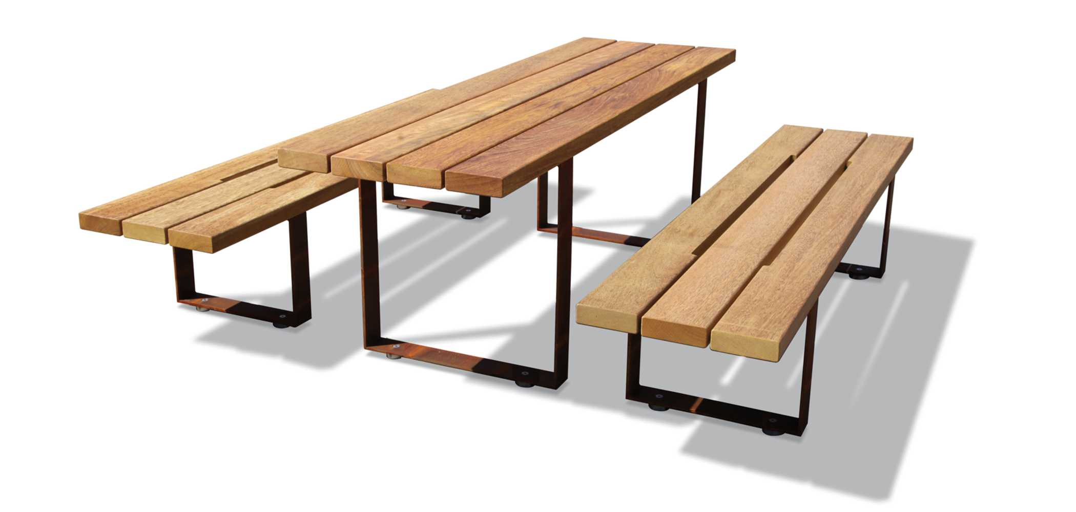 Pic Bull Benches And Table Metalco