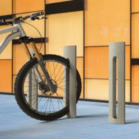 Spring P bike racks and/or pedestrian bollard