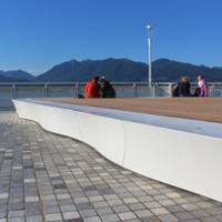 Meteor Collection modular monolithic benches