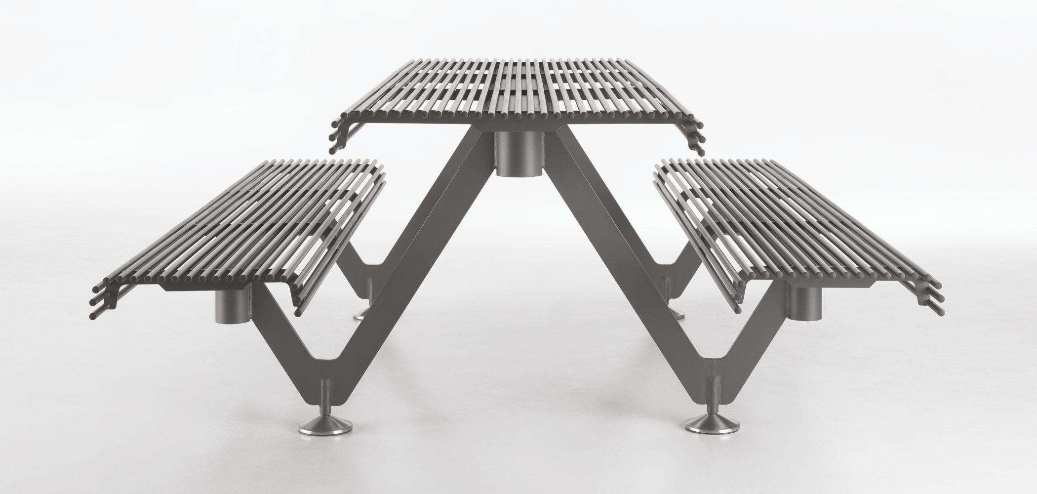 Air A Collection Bench Table Metalco